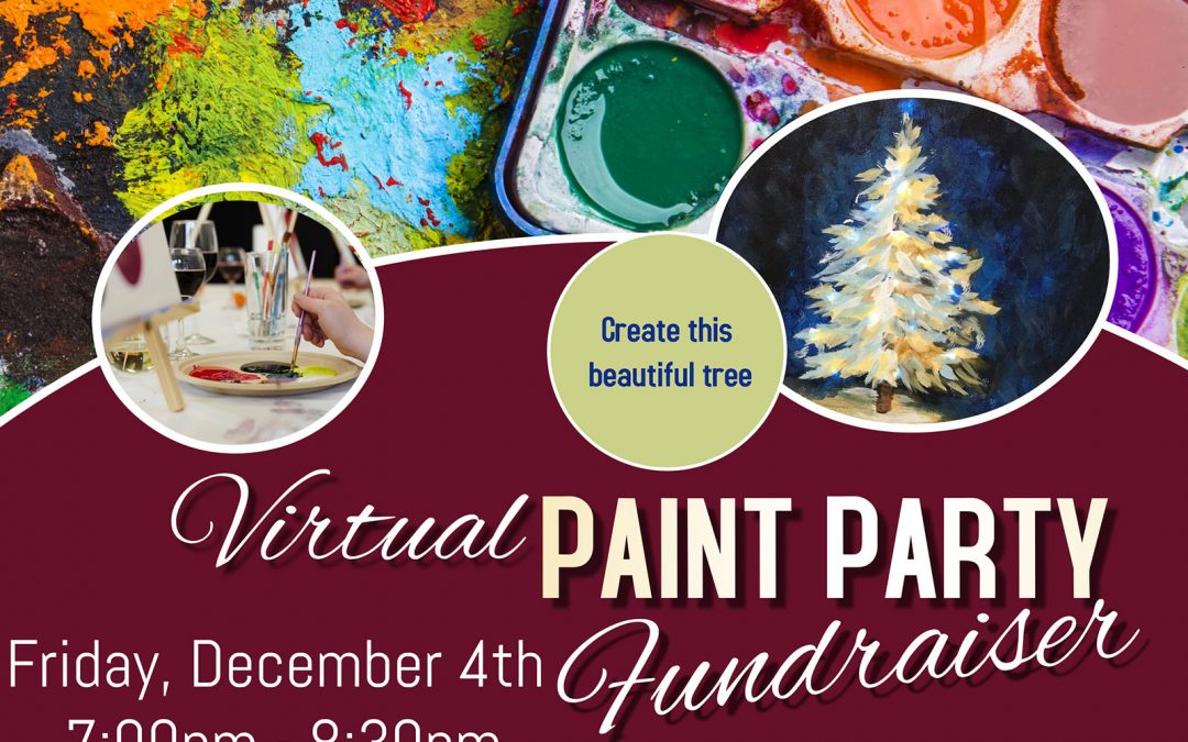 Virtual Paint Party Fundraiser